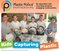 Cross Connections Consulting Plastic Recycling - Kids engaged in soft plastic recycling