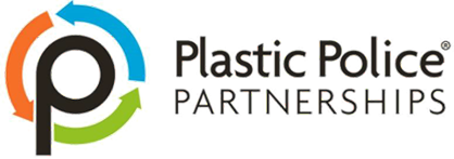 Plastic Police Partnerships soft plastics waste management logo